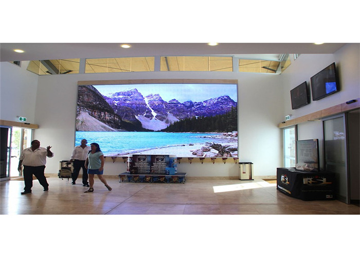Refresh Frequency 3840Hz P1.25mm Indoor Fixed LED Display Super HD Ultra Slim Design Cabinet 400*300mm